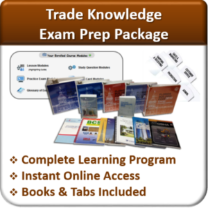 Contractor Classes Exam Prep Package