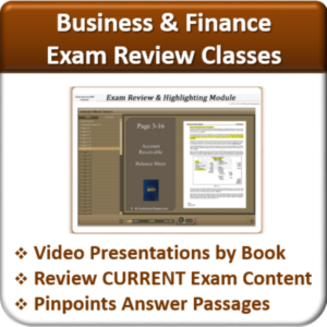 Contractor Classes Business & Finance Exam Review