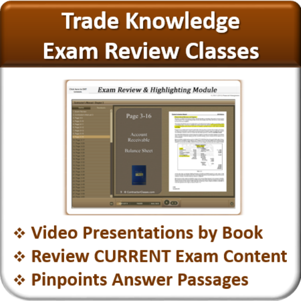 Exam-Review-Trade-Knowledge