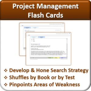 Contractor Classes Project Management Flash Cards