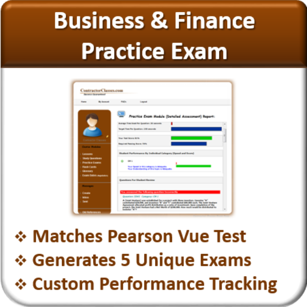 Practice Exams (Business & Finance)