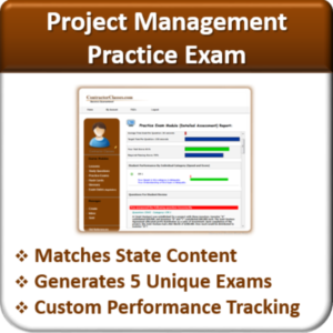 Contractor Classes Project Management Practice Exam