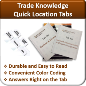 Contractor Classes Quick Location Tabs