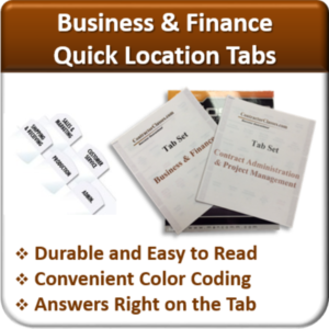 Contractor Classes Business & Finance Quick Location Tabs