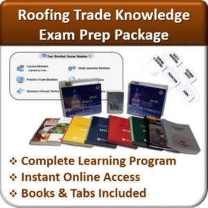 Contractor Classses Roofing Exam Prep Package