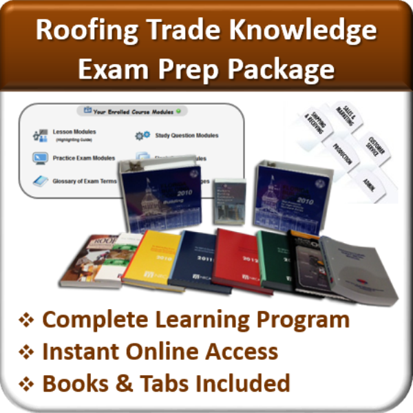 Exam-Prep-Package-Trade-Knowledge-Roofing