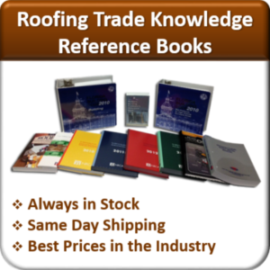 Contractor Classses Roofing Exam Reference Book Set